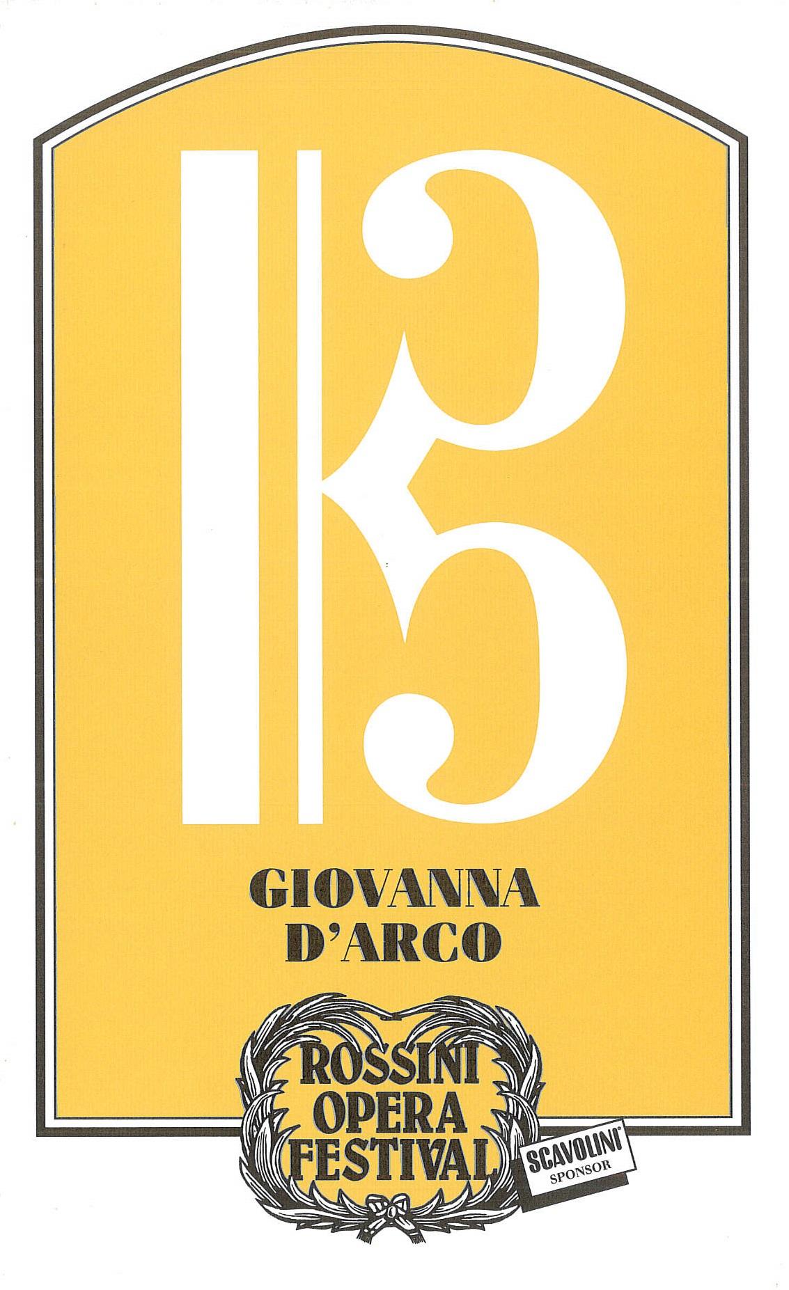 Giovanna D'Arco 1997